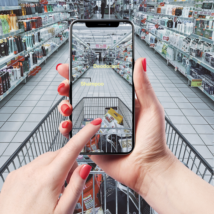MR-shopping-experience-graphic-mixed reality supermarket app